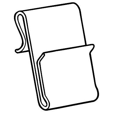 FFR Merchandising WC-6 Power Wing Clip™, 1 1/4