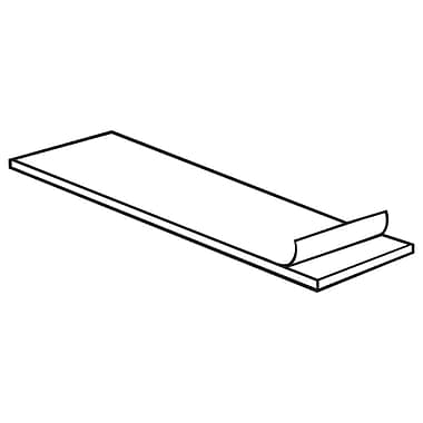 FFR Merchandising ? Coussinets adhésifs, 0,5 larg. x 1 long. x 0,06 prof. (po), blanc, 1000/paquet (8601965901)