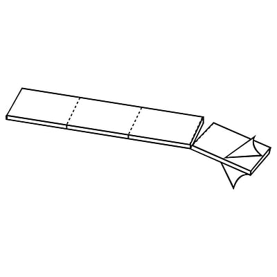FFR Merchandising Re-POP™ Clear Adhesive Pad, 40/Pack (8602157501)