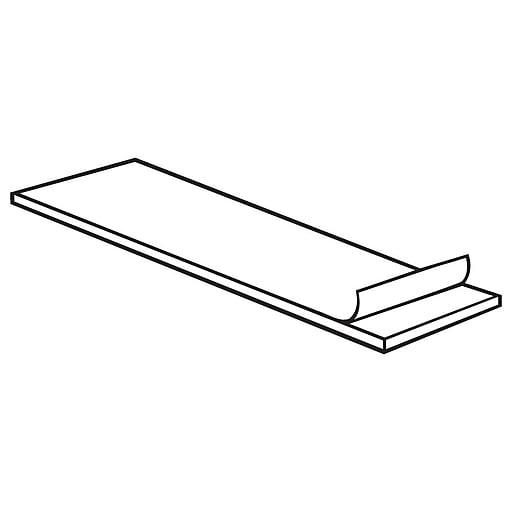 "FFR Merchandising Adhesive Pads, 3/4"" W x 2 3/4"" L x 1/16"" D, White, 5000/Pack (8602389402)"