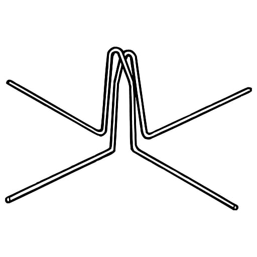 "FFR Merchandising WF-24 Wire Foot, 1 15/32"" I.D., 12/Pack (8707784103)"
