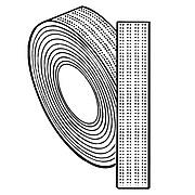 "FFR Merchandising Self-Engaging Fastener, 1""W x 50 Yards, 2/Pack (8808111904)"