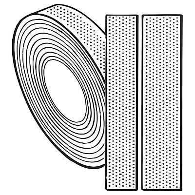 FFR Merchandising Hook-and-Loop Fasteners, Tape, 5/8