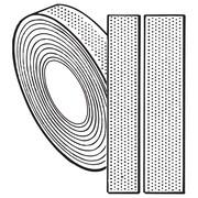 """FFR Merchandising Hook and Loop Fasteners, Roll-Tape, 1"""" Loop, White (8808173506)"""
