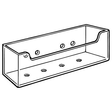 FFR Merchandising CB-94 Rigid Literature Box with Adhesive, 16/Pack (9308031202)