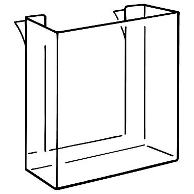 FFR Merchandising ? Porte-documents LP, préformé, 6,13 larg. x 5 haut. (po) 12/paquet (9408140502)