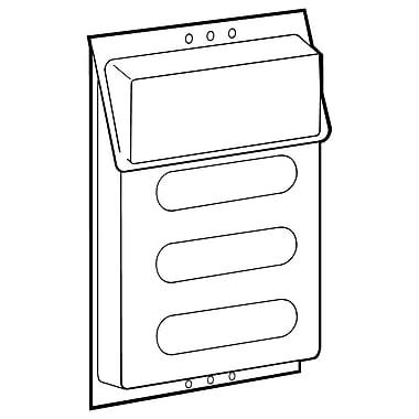 FFR Merchandising - Présentoir de documents d'extérieur, 9 larg. x 11,75 haut. x 1,13 long. (po), 2/paquet (9709339402)