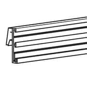 "FFR Merchandising Clip-On Track Sign Channel, 3""H x 48""L, 2-Track, 2/Pack (9920719611)"