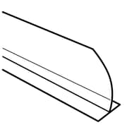"FFR Merchandising All Purpose ""T"" Dividers, 3"" H x 30"" L, Angled, 2/Pack (9921012384)"