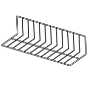 "FFR Merchandising Vinyl-Coated Wire Fencing, 6""H x 8""H x 24""L, 2"" Spacing, Black, 4/Pack (9921013275)"