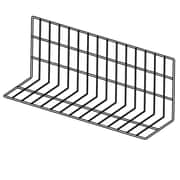 "FFR Merchandising Vinyl-Coated Wire Fencing, 8""H x 12""H x 30""L, 2"" Capacity, Black, 2/Pack (9921017817)"