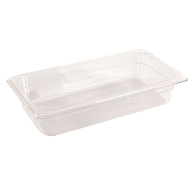 FFR Merchandising Cold Food Pans and Covers, 2 1/2