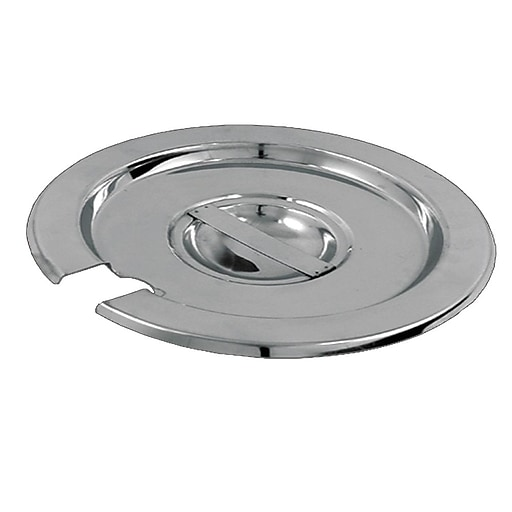 """FFR Merchandising Soup Pots and Covers, 7""""D, Embedded Loop Handle, 4/Pack (9922511719)"""