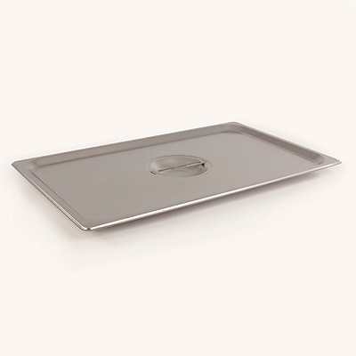 FFR Merchandising Stainless Steel Pans and Accessories, Full Cover Pan, 2/Pack (9922511836)