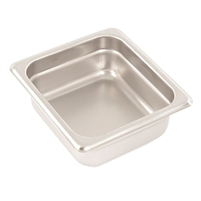 FFR Merchandising Stainless Steel Pans And Accessories, 2-1/2
