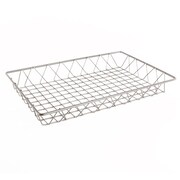 "FFR Merchandising Wire Display Baskets and Trays, Smooth Gray, 12"" W x 18"" L x 2"" H, 2/Pack (9922810918)"