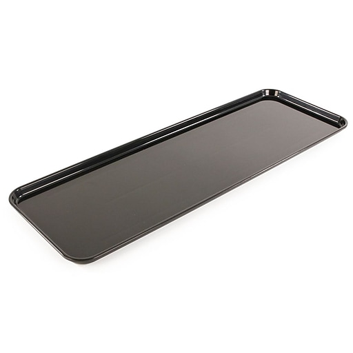 """FFR Merchandising Meat Display Trays, 8"""" L x 23 3/4"""" W x 1"""" H, 23 3/4"""" Pans for Over/Under Cases, 2/Pack (9922811772)"""