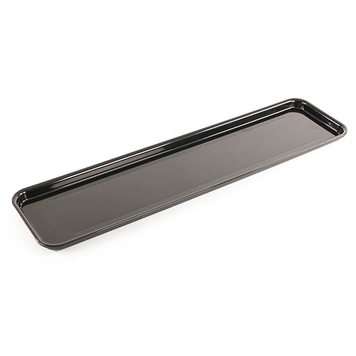 """FFR Merchandising Meat Display Trays, 6"""" L x 23 3/4"""" W x 1"""" H, 23 3/4"""" Pans for Over/Under Cases, 2/Pack (9922818789)"""
