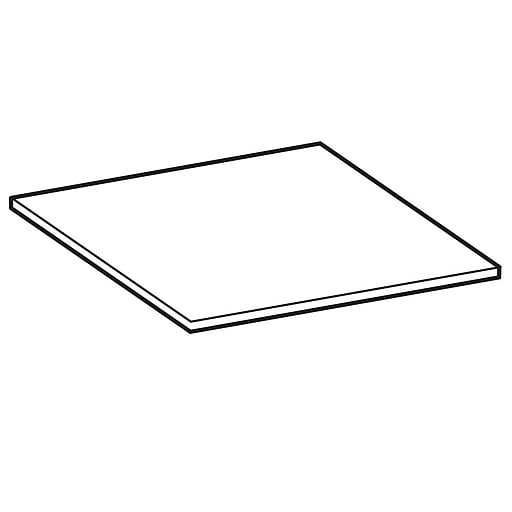 """FFR Merchandising Poly Cutting Boards, 24"""" W x 24"""" L x 1/2"""", Textured, 2/Pack (9922919397)"""