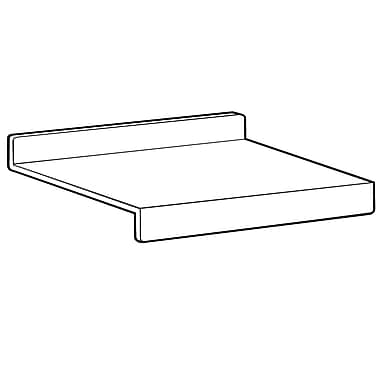 FFR Merchandising Slatwall Shelf, 14