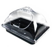 """FFR Merchandising Unbreakable Dome Side-Cut for Self-Serve Olive Display Pans; Clear, 10""""W x 12""""L (9923919390)"""