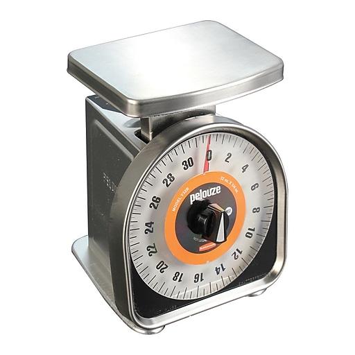 FFR Merchandising Aluminum Portion Control Scale, 32 oz x 1/4 oz  (9925610131)