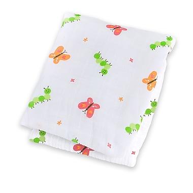 Lulujo Swaddling Blanket, Garden Party