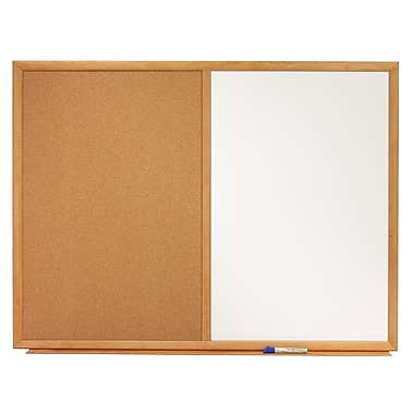 Quartet® Standard Combination Dry-Erase/Cork Bulletin Board, 38