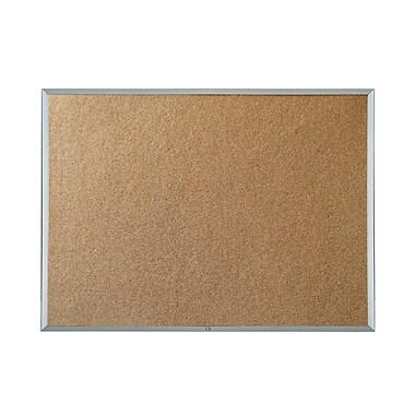 Quartet® - Tableau blanc non-magnétique à prix économique, cadre en aluminium, 78 po x 54 po
