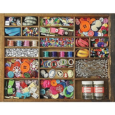 Springbok The Sewing Box Jigsaw Puzzle, 500 Pieces