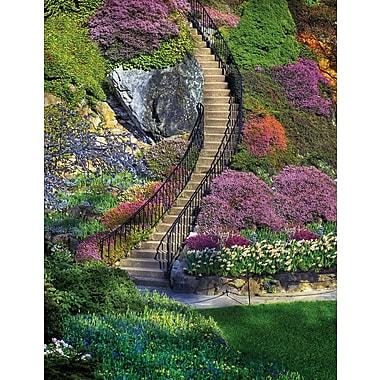 Springbok – Casse-tête rectangulaire de 500 morceaux, escalier vers le jardin