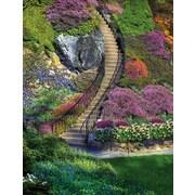 Springbok Garden Stairway Rectangular Jigsaw Puzzle, 500 Pieces