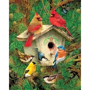 Springbok Feathered Retreat Jigsaw Puzzle, 1000 Pieces