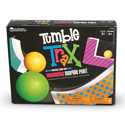 Learning Resources Tumble Trax™ Magnetic Marble Run