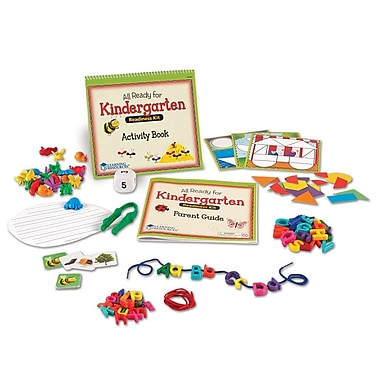 Learning Resources® All Ready For Kindergarten Readiness Kit LER3478