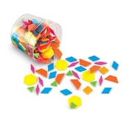 Learning Resources Brights!™ Pattern Blocks LER3550