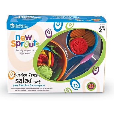 Learning Resources® New Sprouts Garden Fresh Salad Set LER9745-D