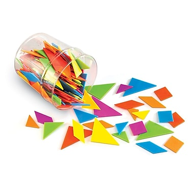 Learning Resources® Brights! Tangrams Classpack LER3554