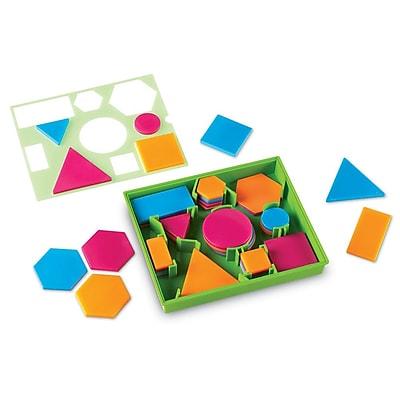 Learning ResourcesBrights!™ Attribute Blocks Desk Set LER3555