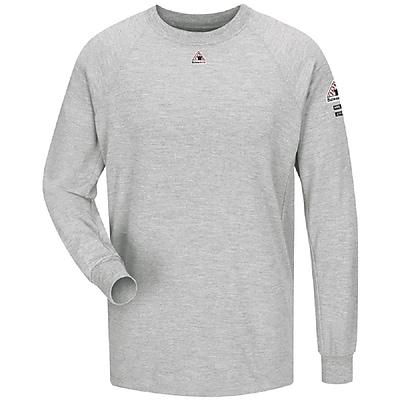 Bulwark Men's Long Sleeve Performance T-Shirt - CoolTouch2 RG x 3XL, Grey