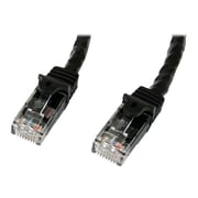 StarTech  N6PATCH7BK Snagless Molded Cat6 Patch Cable, 7', Black