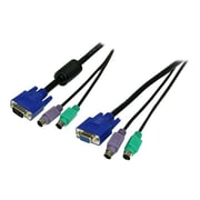 StarTech SVPS23N1 3-in-1 Premium Universal KVM Cable, 6'(L)