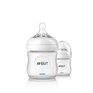 Avent Natural Bottle, 4oz., 2/Pack