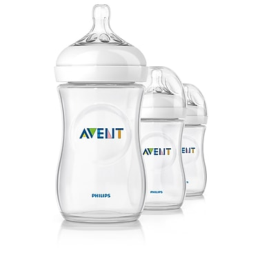 Avent Natural Bottle, 9oz., 3/Pack