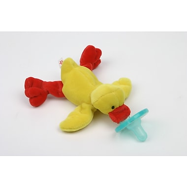 WubbaNub Infant Pacifier, Yellow Duck