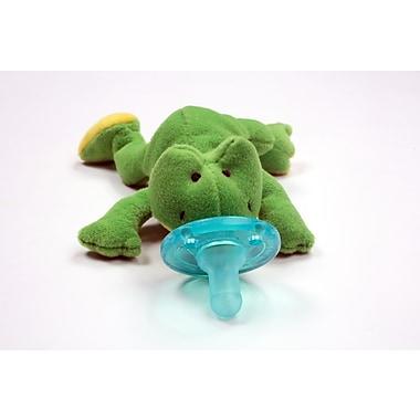 WubbaNub Infant Pacifier, Green Frog