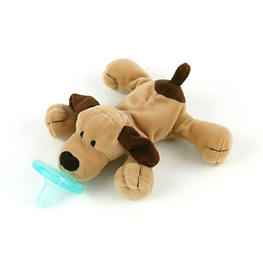 WubbaNub Infant Pacifier, Brown Puppy