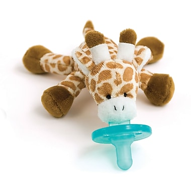 WubbaNub Infant Pacifier, Baby Giraffe