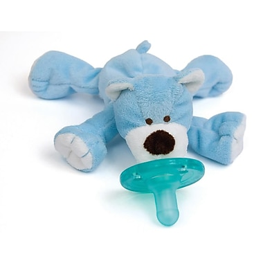 WubbaNub Infant Pacifier, Blue Bear