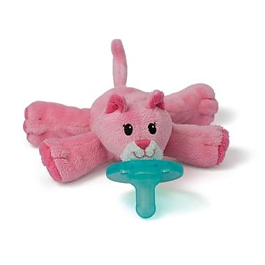 WubbaNub Infant Pacifier, Pink Cat